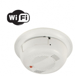 Wifi Hidden Spy Smoke Detector Camera