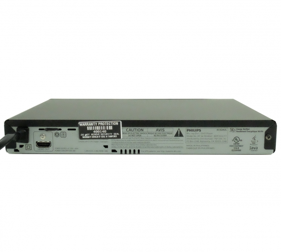 Completely Functional Blu-Ray DVD Player With 1080P HD Wifi