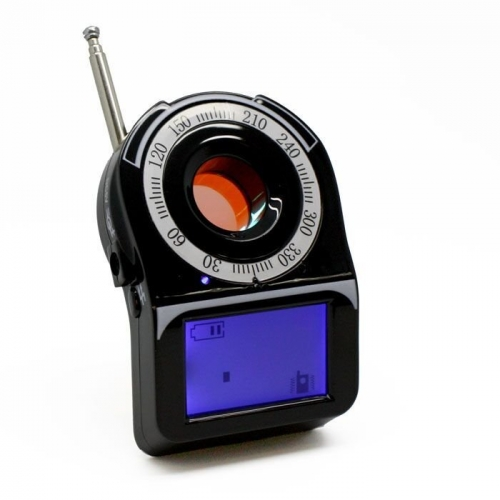 Wide Range Camera Bug Scanner RF Detector With LCD