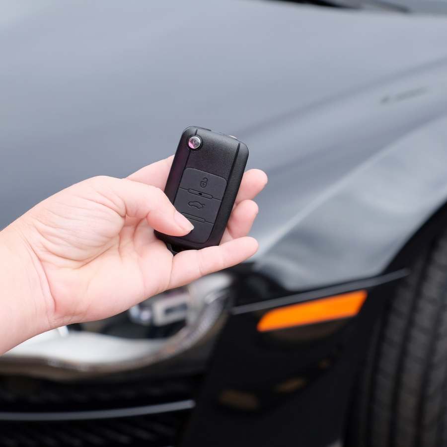720P HD Car Keychain Fob Remote Nanny Spy Hidden Wifi Camera