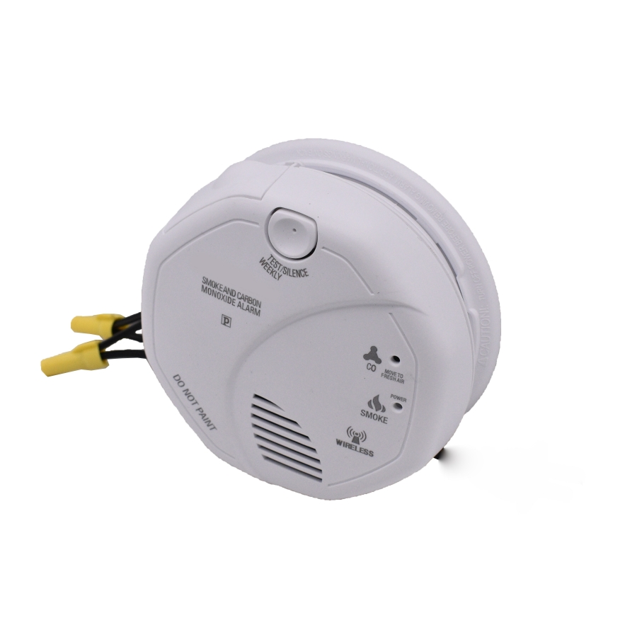 Smoke Alarm Detector With 1080P HD Wifi Night Vision Camera