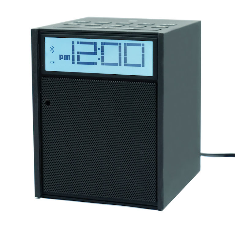 bush baby bluetooth clock radio with 1080p hd wifi camera. Black Bedroom Furniture Sets. Home Design Ideas