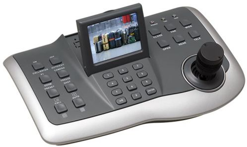 3 Axis PTZ Controller with3 5 inch Monitor