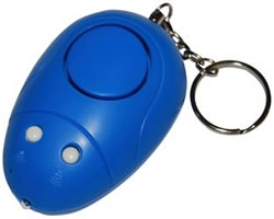 Mouse Shapped Personal Alarm With Flashing Light