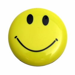 Mini Gadgets Body Worn Happy Smile Face Button With Camera