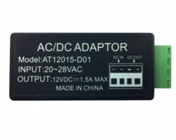 24VAC to 12VDC Power Converter