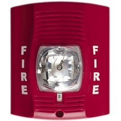 Fire Alarm Strobe Light DVR Camera With 30 Day Battery