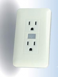 Peel N Stick Wall Outlet Plug DVR Hidden Nanny Spy Camera