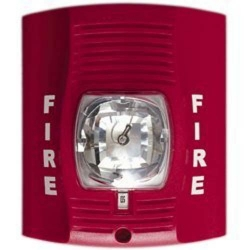 Emergency Fire Alarm Strobe Light With 720P HD WiFi Camera