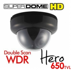 Superdome HD WDR Dome Security Camera 2.8-12mm 650TVL
