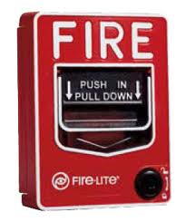 Emergency Fire Alarm Pull Station Hidden Camera 30 Day Battery