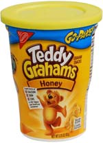 Teddy Grahams Cookie Diversion Hidden Burglar Safe
