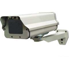 Security Camera Housing With Heater and Mounting Bracket