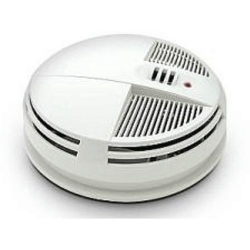 Night Vision Smoke Alarm Detector 90 Day Bottom View Camera