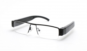 Clear Lens Optical POV Sports Glasses With 1080P HD Camera