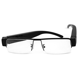 No Frame Optical POV Specs Glasses With 1080P HD Camera