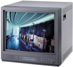21 inch Color High Resolution Color Security Monitor