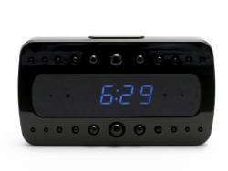 Mini Gadgets Desktop Alarm Clock With 1080P HD Wifi Camera