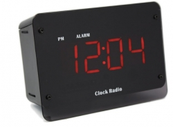 720P Wifi Night Vision Radio Clock Hidden Nanny Camera