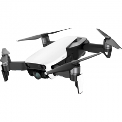 DJI Mavic Air 4K 12MP Aerial Quadcopter Drone Arctic White
