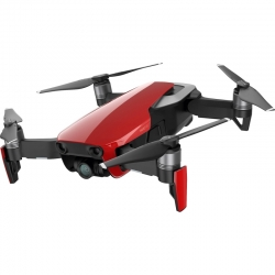DJI Mavic Air 4K 12MP Aerial Quadcopter Drone Red