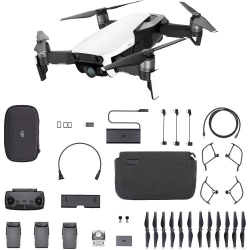 DJI Mavic Air 4K 12MP Fly More Combo Aerial Drone Arctic White