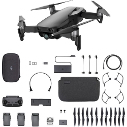 DJI Mavic Air 4K 12MP Fly More Combo Aerial Drone Onyx Black