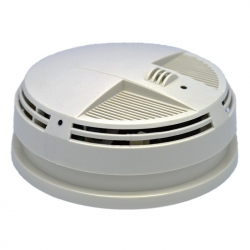 Night Vision Smoke Detector Alarm 4K UHD Side View Camera