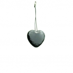 Heart Shaped Hands Free Voice Activated Necklace Recorder