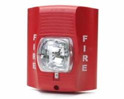 Fire Alarm Strobe Emergency Light With Wifi 1080P HD Camera