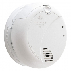 Fire Alarm Smoke Detector With 1080P HD Wifi 36 Hour Camera