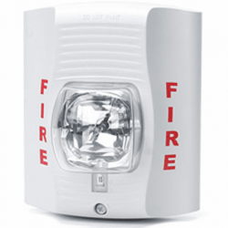 Fire Alarm Emergency Strobe Light with 1080P HD Wifi Camera