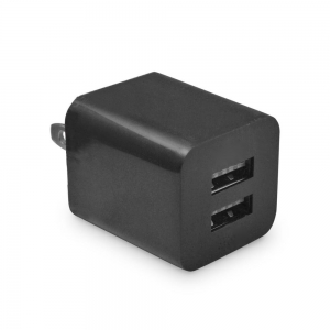 Dual USB Smartphone Plug Wall Charger Adapter With 1080P HD Wifi Camera