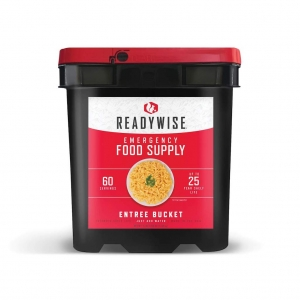 ReadyWise 60 Servings Grab N Go Entree Emergency Survival Food Camping Bucket