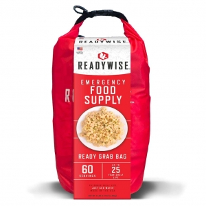 ReadyWise 7 Day 60 Servings Breakfast Entree Emergency Survival Food Bag