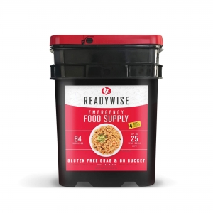 ReadyWise Gluten Free 84 Servings Emergency Breakfast Entree Survival Food Bucket
