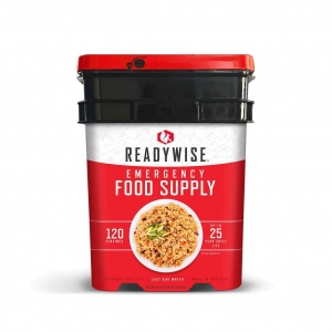 ReadyWise 120 Serving Entree Emergency Survival Storage Food Bucket