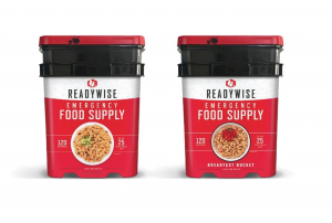 ReadyWise 240 Serving Entree Emergency Survival Food Storage Camping Buckets