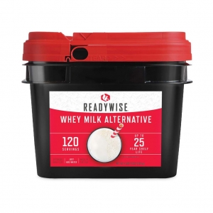 ReadyWise 120 Serving Emergency Survival Whey Milk Camping Food Bucket