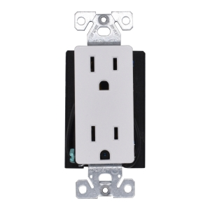 Functional Rectangular Hardwired Receptacle Outlet Plug With Wifi 4K UHD Camera