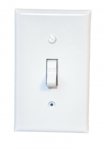 Functional Hardwired Electrical Wall Light Switch With Wifi 4K UHD Camera