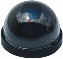 Dome Dummy Camera with Blinking LED Red Light