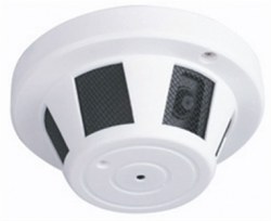 1/3 Sony CCD Color functional smoke detector color camera