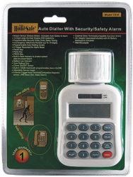 Auto Dialer Security System With 105 Decibel Alarm