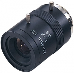 Varifocal Lens 3.5mm to 8mm with Manual Iris 1/3 inch F1.4 (L3.5-8mm)