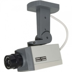 Motion Activated Dummy Security Camera Blinking LED Light